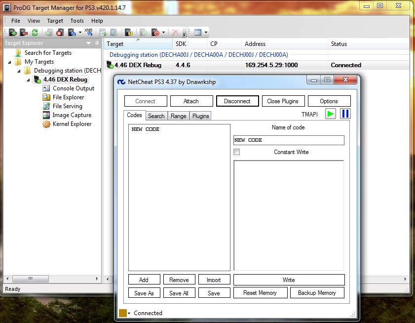 Chercher des Offset sur PS3 DEX | Console X
